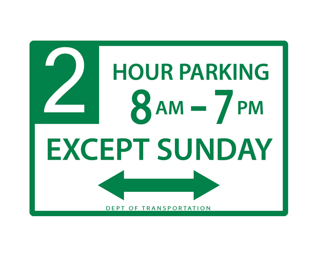 parking_signs_new_york_hourly_parking_with_day_exception
